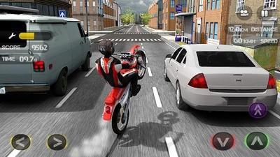 摩托车狂奔赛